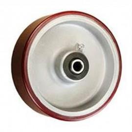 Polyurethane On Aluminum Center Wheels (1)