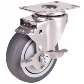 Light/Medium Stainless Steel Casters (1)