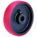 EASY ROLLING HEAVY DUTY POLYURETHANE WHEELS