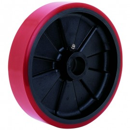 Polyurethane On Glass Filled Nylon Wheels