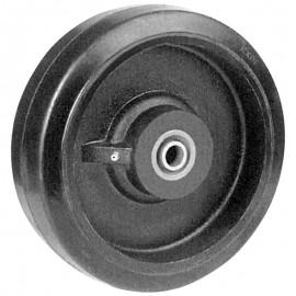 Heavy Duty Rubber Mold On Cast Iron Core Wheels